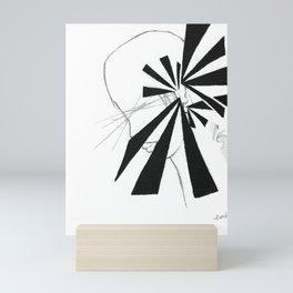 Ears by riendo Mini Art Print