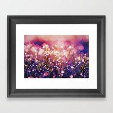 Fairy Drops Sunburst Framed Art Print