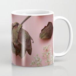 Flourish pattern in pink Coffee Mug
