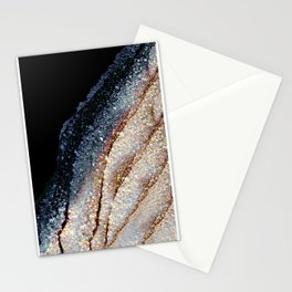 FLAWLESS GREY & GOLD Stationery Cards