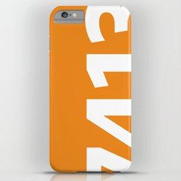 7413 iPhone Case