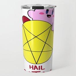 Hail Satan Travel Mug