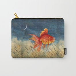 Floating red fish Carry-All Pouch