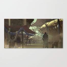 The Great Bazaar Canvas Print