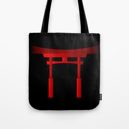 Japanese Tori Gate Tote Bag
