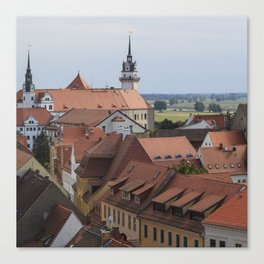Torgau, A Very Nice Renaissance Town In Saxony Canvas Print
