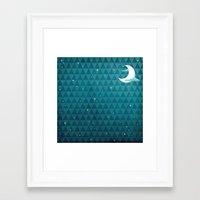 night sky Framed Art Prints featuring Night Sky by littleclyde