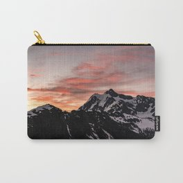 Pink Sky - Cascade Mountains - Nature Photography Carry-All Pouch
