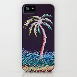 """Ghost Palms of Kauai #8"" Painting iPhone Case"