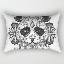 Blacksilver Panda Spirit Rectangular Pillow
