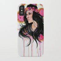 annie hall iPhone & iPod Cases featuring Annie by Alina Rubanenko