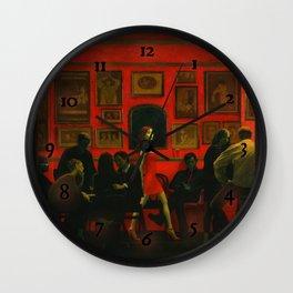 Saturday Night [extended] Wall Clock