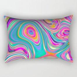 Candy pink melt Rectangular Pillow