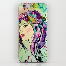 Goddess of The Electric Moon iPhone Skin