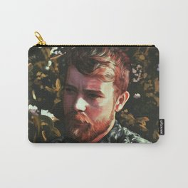 Flower Portrait Carry-All Pouch