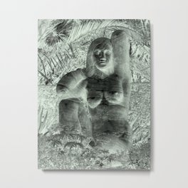 galleryHLT Naked Lady Garden Metal Print