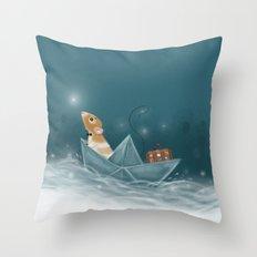 Travel Adventure Throw Pillow