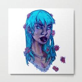 Chrysanthemum - African American Superhero Metal Print