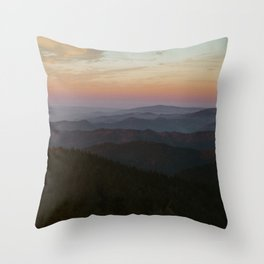 The Black Forest Throw Pillow