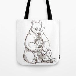 IRL teddybear Tote Bag