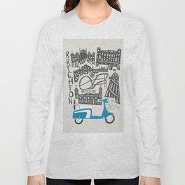 Brighton Cityscape Long Sleeve T-shirt