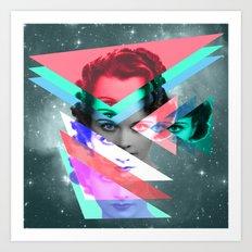 galactic implosion Art Print
