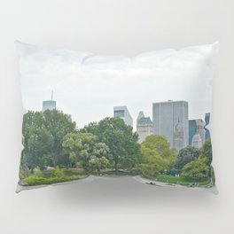 Sunday morning in Central Park NYC Pillow Sham