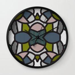 Pop Art Tiles Wall Clock