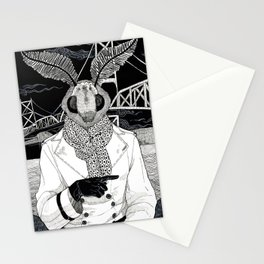 The Cryptids - Mothman Stationery Cards