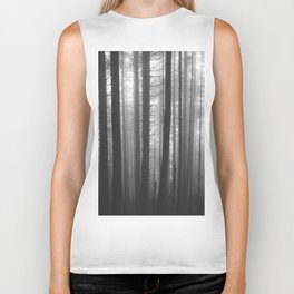 Into the Mist - BW Biker Tank