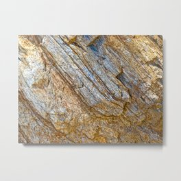 Stunning rock layers Metal Print