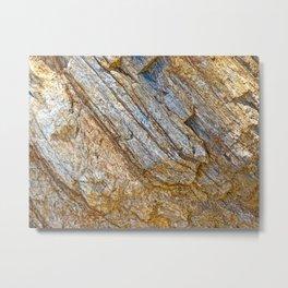 Stunning rock layers Metal Print