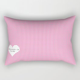 Japanese Kawaii Lolita - Tiny Heart Rectangular Pillow