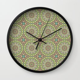 Boho Soft Mandala Lace Wall Clock