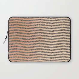 Zigzag Tan Gradient Laptop Sleeve