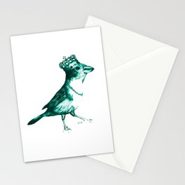 Crown Bird Stationery Cards