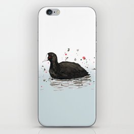 Common coot iPhone Skin