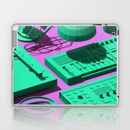 Low Poly Studio Objects 3D Illustration Laptop & iPad Skin
