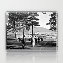 Vintage Lake George: The Sagamore Docks at Green Island Laptop & iPad Skin