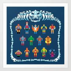 Heroic Masters of the Universe Art Print
