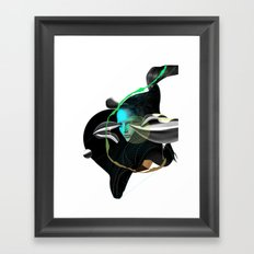 Amsterdam Exhibition 2011 pitch Framed Art Print