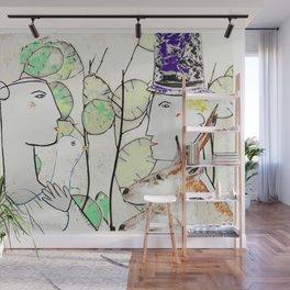 Bride & Groom Wall Mural