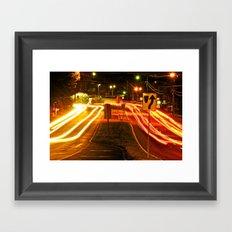 Late Night Framed Art Print