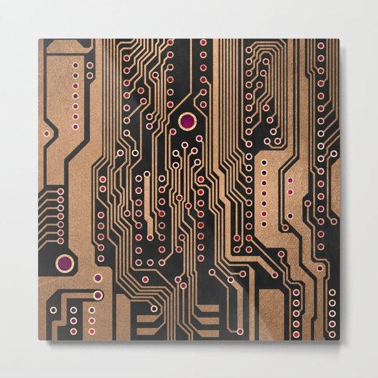 PCB / Version 3 Metal Print