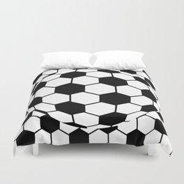 Black and White 3D Ball pattern deign Duvet Cover
