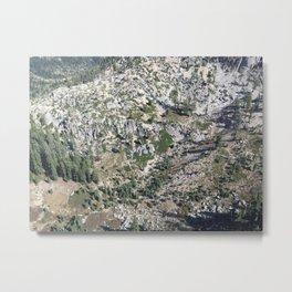 Sierra Backcountry Metal Print