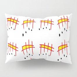 melody 3-music,melody, mark, music notation,fun, solfeggio, pleasure, rythm, dance, art Pillow Sham