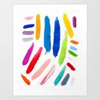 Emile Pattern Art Print