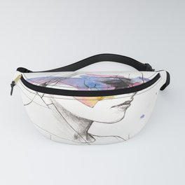 Woman With A New Vision Fanny Pack