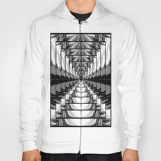 Abstract.Black+White. Hoody